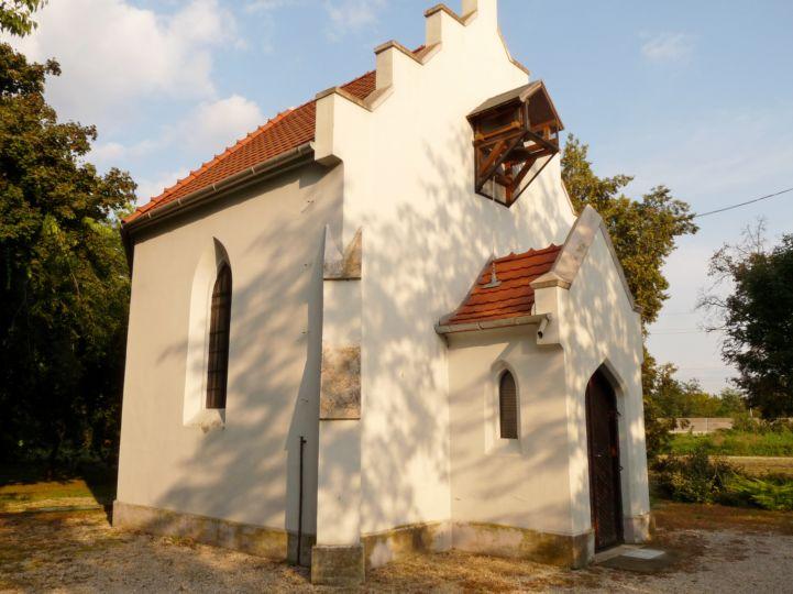 a volt Luczenbacher-kastély kápolnája