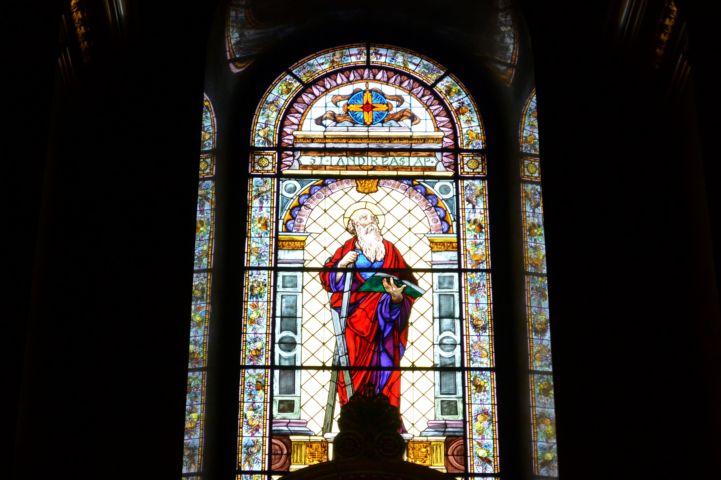 Szent András mozaik a Bazilikában