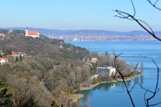 Tihany peninsula with the Abbey