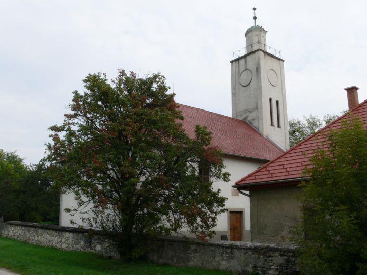Bodméri református egyházközség temploma