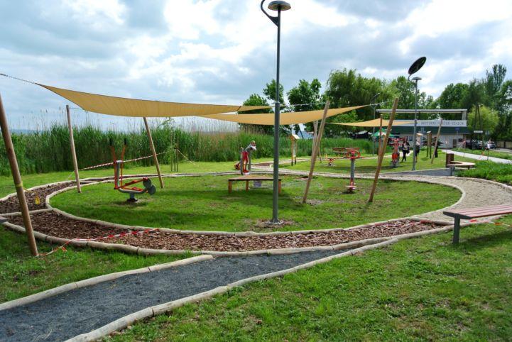 köztéri fitnesz park