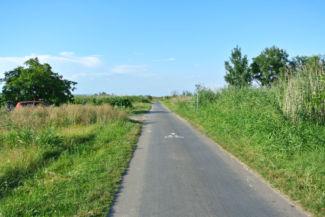 bicikliút Fertőmeggyes és Ruszt között