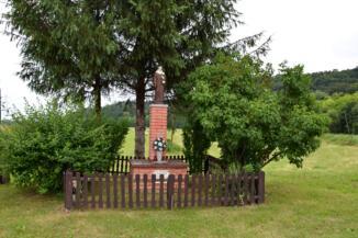 Szent Antal-szobor Szécsisziget közelében