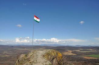 kilátás a Szanda-hegyről