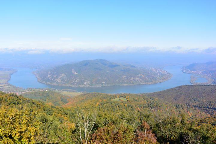 a Dunakanyar legszebb panorámája - a Prédikálószékről