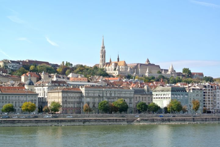 Panorama with Matthias Church