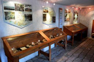 Hegyestű Geológiai Bemutatóhely kiállítása