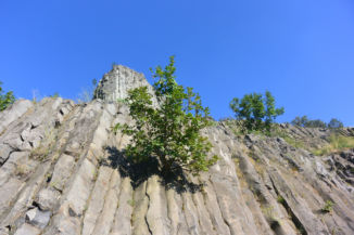 a Hegyestű bazaltoszlopai