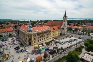 a 2016-os Tour de Hongrie Keszthelyen