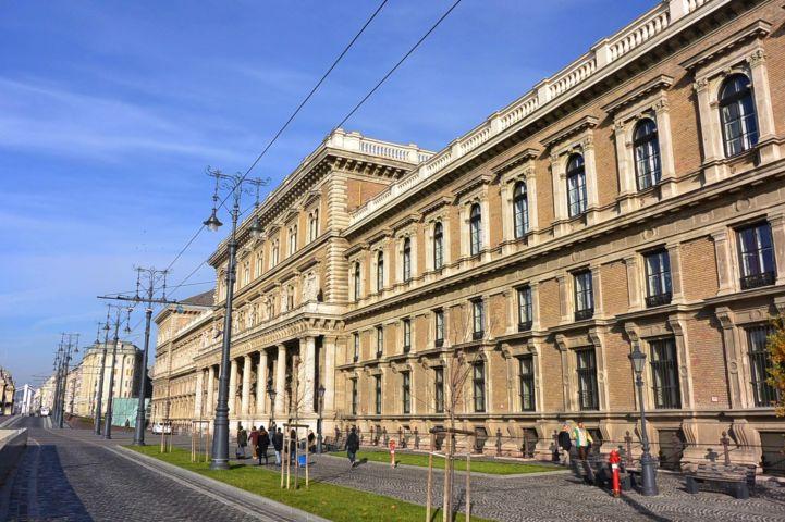 Main Building of Corvinus University of Budapest