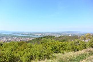 esztergomi panoráma a Kis-Kúria-hegyről