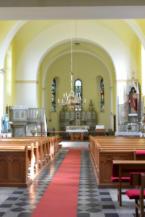 a balatonszentgyörgyi Szent György-templom belső tere
