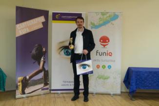 Pálosi Gyula Viktor, a 2017-es Cartographia Kupa fotópályázat II. helyezettje