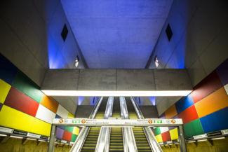 a 4-es metró Móricz Zsigmond körtér megállója
