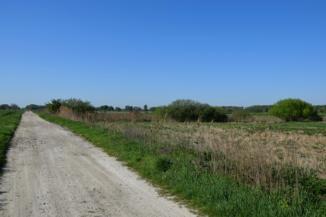 kerékpáros szervizút a 74-es út mentén Nagykanizsa és Újudvar között