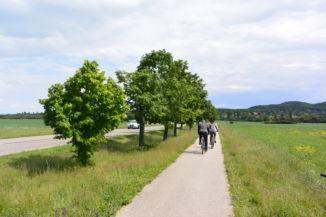 Aszófő és Tihany közötti kerékpárút