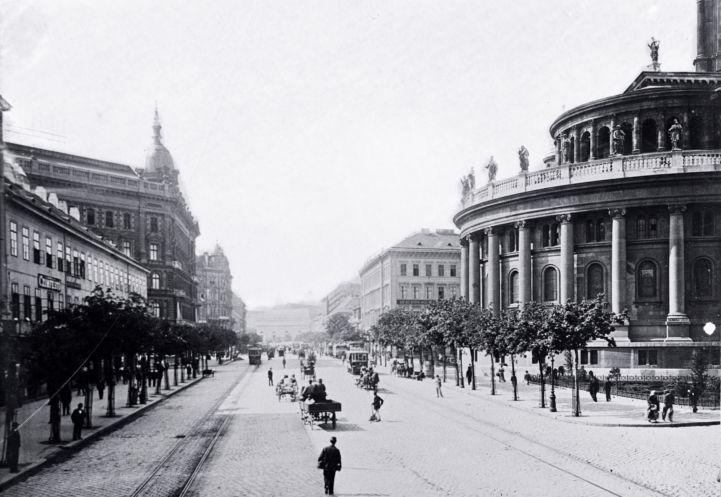 a Bazilika a Bajcsy-Zsilinszky út felől nézve az 1900-as évek elején