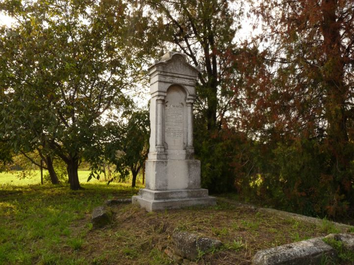 Balassa Antal síremlék