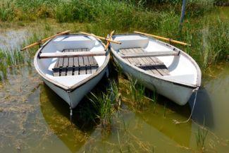 csónakok a Belső-tónál