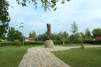 Szent István-szobor a király nevét viselő téren