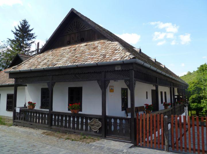 tipikus ház Ófaluban