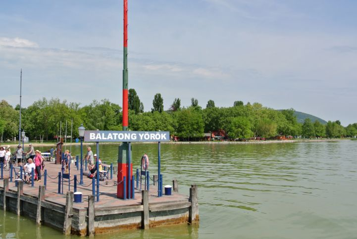 pier at Balatongyörök