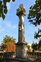 Szentháromság-szobor Kéthelyen