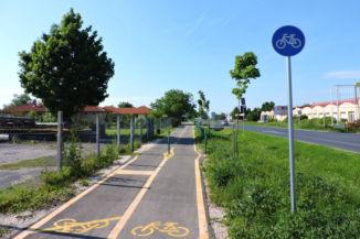 bicikliút Ságváron