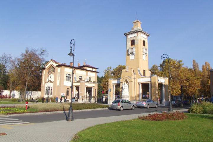 a Rákoskeresztúri új köztemető bejárata