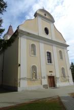 homokkomáromi Kisboldogasszony-templom