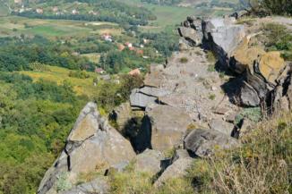 kilátópont a Badacsony északi részén