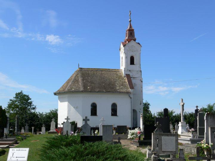 Jézus Szíve kápolna a temetőben
