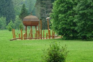 játszótér a Budafai Arborétumban