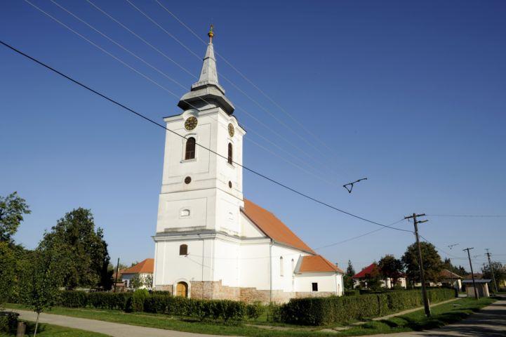 abádi református templom