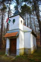 kápolna Körtvélyespusztán