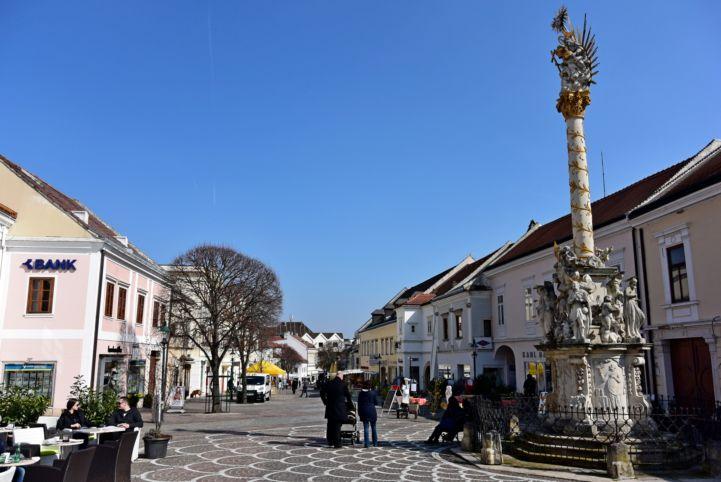 Hauptstraße - a sétálóutca