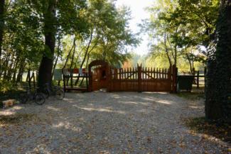 a Festetics Imre állatpark bejárata