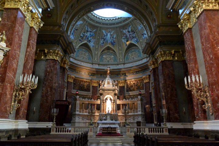 a Bazilika főoltára
