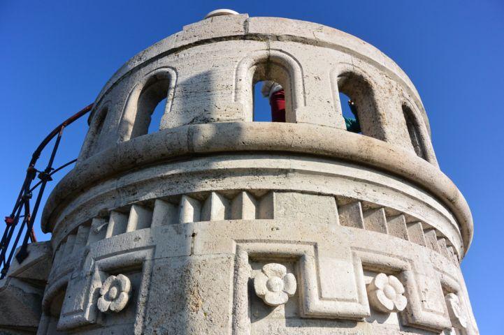 az Erzsébet-kilátó legfelső terasza