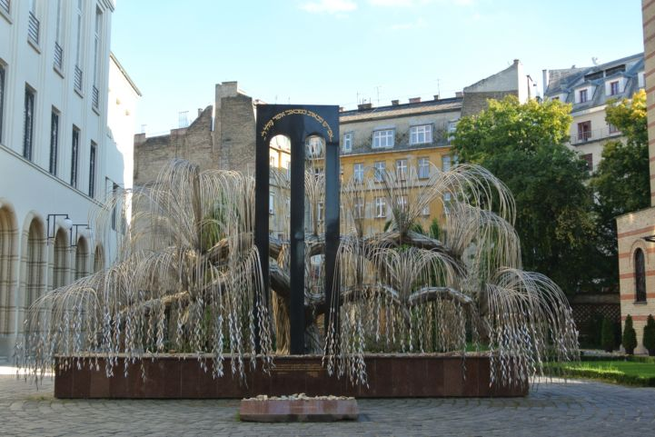 memorial tree of Holocaust victims in the Holocaust Memorial Park