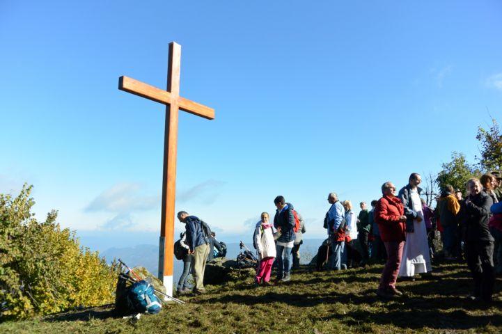 Szent László-kereszt a Prédikálószéken