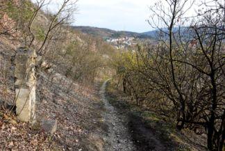 Kálvária-hegy - egy stáció igen siralmas állapotban