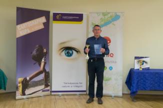 Balázs Péter, a 2017-es Cartographia Kupa kiemelt teljesítője 24 túrával