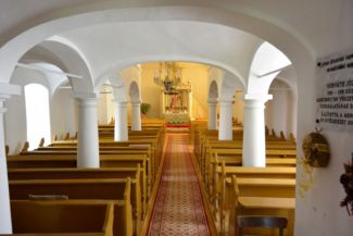 evangélikus templom belseje