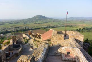 a szigligeti vár és a Szent György-hegy
