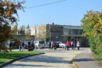 a Gyermekvasút Széchenyi-hegyi végállomása