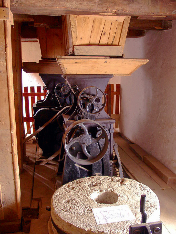 inside the Village Mill Museum