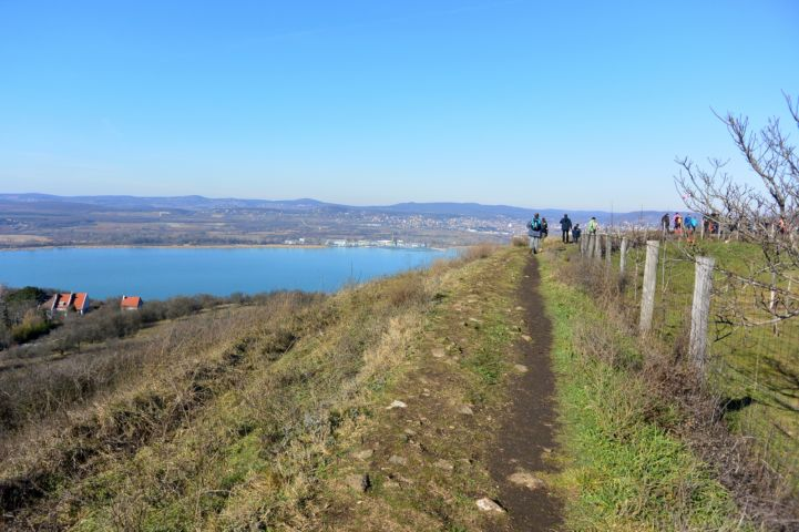 Lake Balaton from the nature trail