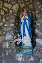 Mária szobor a Mária-barlangban