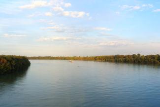 kilátás az M0-ás (Deák Ferenc) hídról